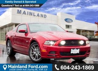 Used 2014 Ford Mustang GT LOW KMS for sale in Surrey, BC