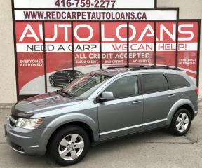 Used 2010 Dodge Journey SXT-ALL CREDIT ACCEPTED for sale in Scarborough, ON