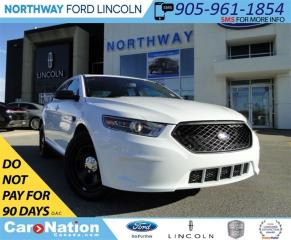Used 2017 Ford Taurus INTERCEPTOR | REAR CAM | REAR SENSORS | LOW KM | for sale in Brantford, ON