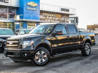 Used 2014 Ford F-150 FX4, SUPERCREW, ECOBOOST 3.7- CLEAN CARPROOF , ONE OWNER for sale in Ottawa, ON