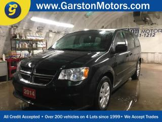 Used 2014 Dodge Grand Caravan SE*KEYLESS ENTRY*POWER FRONT WINDOWS/LOCKS/HEATED MIRRORS*DUAL ZONE CLIMATE CONTROL*TRACTION CONTROL*ECON MODE*AM/FM/CD/AUX* for sale in Cambridge, ON