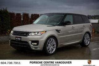 Used 2014 Land Rover Range Rover Sport V8 SC Autobiography Dynamic for sale in Vancouver, BC