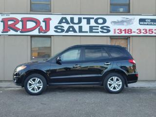 Used 2011 Hyundai Santa Fe Limited ONLY 55000 KM 1 OWNER for sale in Hamilton, ON