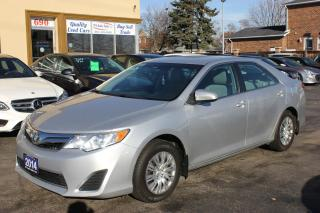 Used 2014 Toyota Camry LE Bluetooth Backup Cam for sale in Brampton, ON