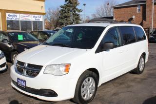 Used 2014 Dodge Grand Caravan SXT Stow & Go for sale in Brampton, ON