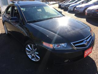 Used 2008 Acura TSX Auto / Navigation / Leather / Alloys / Sunroof for sale in Scarborough, ON