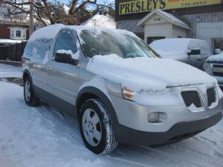 Used 2007 Pontiac Montana SV6 AC 7pass FWD Cruise PW PL PM for sale in Ottawa, ON