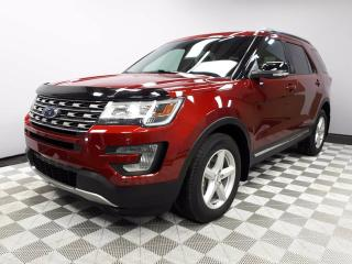 Used 2017 Ford Explorer XLT with Leather - Local One Owner Trade In | No Accidents | Leather Interior | Seats 7 | Heated Front Seats | Navigation | Back Up Camera | Parking Sensors | 18 Inch Wheels | Power Liftgate | Bluetooth | 3 Zone Climate Control with AC | Low KMs | Well Lo for sale in Edmonton, AB