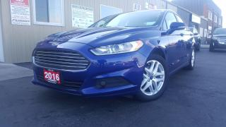 Used 2016 Ford Fusion SE-BACK UP CAMERA-FACTORY WARRANTY-1 OWNER for sale in Tilbury, ON