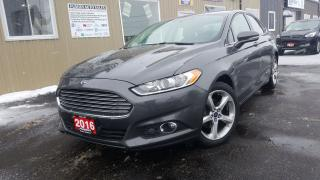 Used 2016 Ford Fusion AWD-BACK UP CAMERA-SPORT PKG-HEATED SEATS for sale in Tilbury, ON