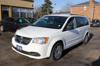 Used 2016 Dodge Grand Caravan SXT Stow & Go Bluetooth for sale in Brampton, ON