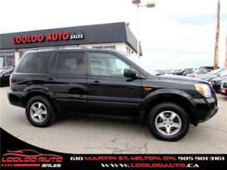 Used 2008 Honda Pilot EX-L 4X4 8 PASSENGER DVD LEATHER SUNROOF for sale in Milton, ON
