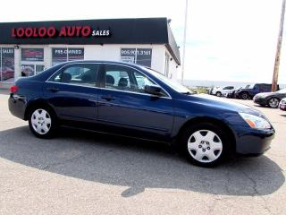Used 2005 Honda Accord LX V6 Automatic AC Power Windows for sale in Milton, ON