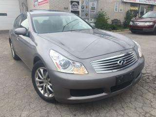 Used 2008 Infiniti G35X Luxury Navigation_Backup Camera_Leather_Sunroof for sale in Oakville, ON
