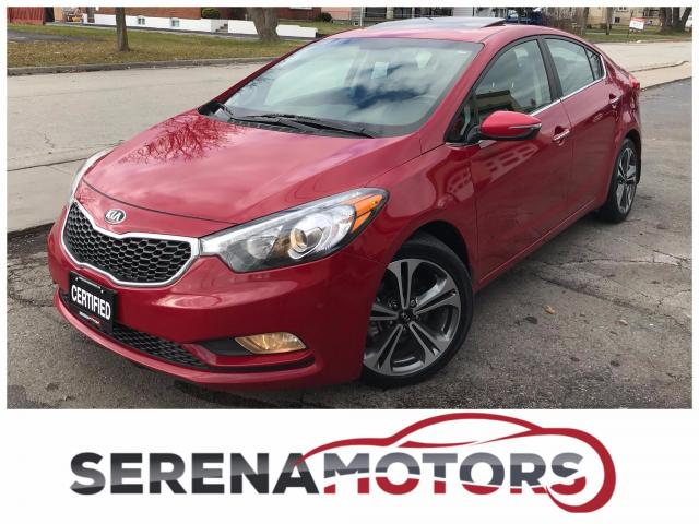 2015 Kia Forte EX | ONE OWNER | NO ACCIDENTS | SUNROOF |