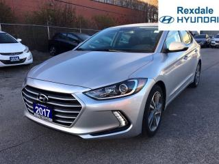 Used 2017 Hyundai Elantra GLS **2.99% FINANCING AVAILABLE O.A.C. for sale in Etobicoke, ON