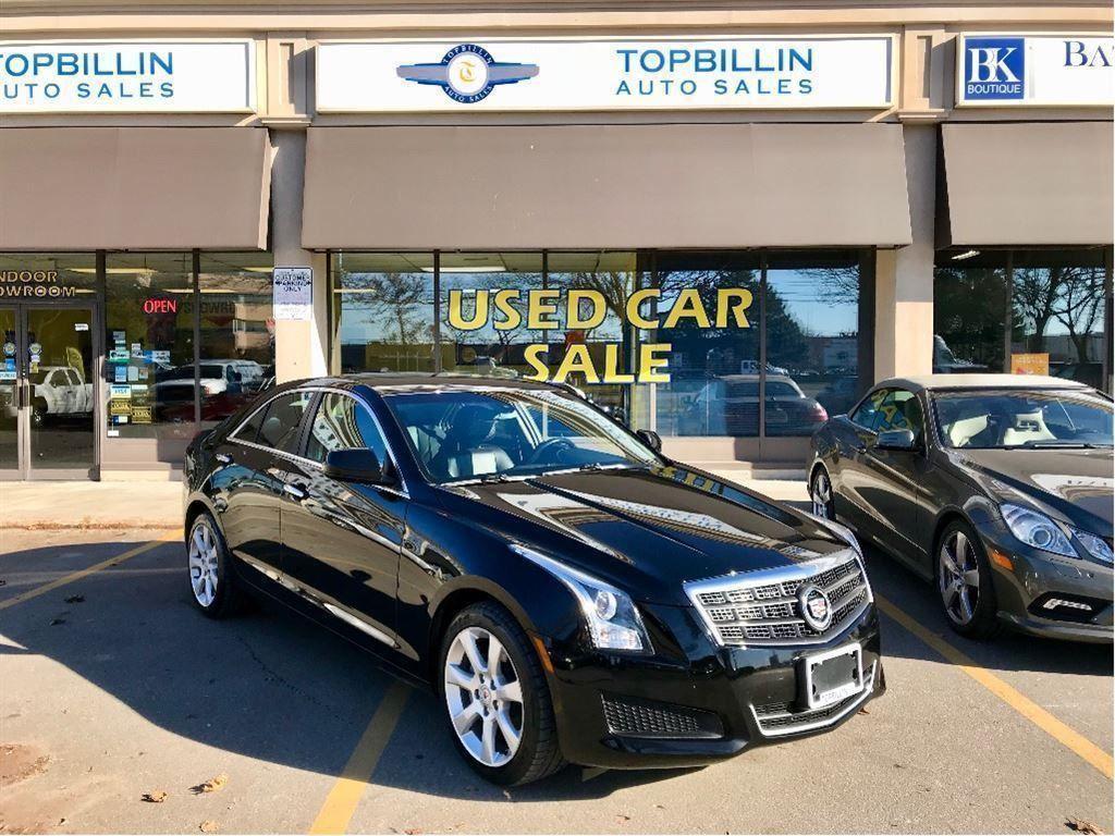 2014 Cadillac ATS 4 2.0L Turbo AWD 2 YEARS WARRANTY