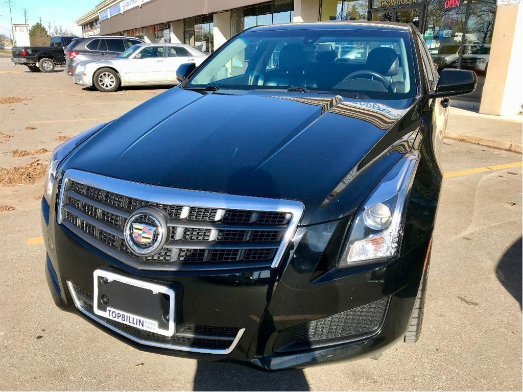 used 2014 cadillac ats 4 2 0l turbo awd 2 years warranty for sale in concord ontario. Black Bedroom Furniture Sets. Home Design Ideas