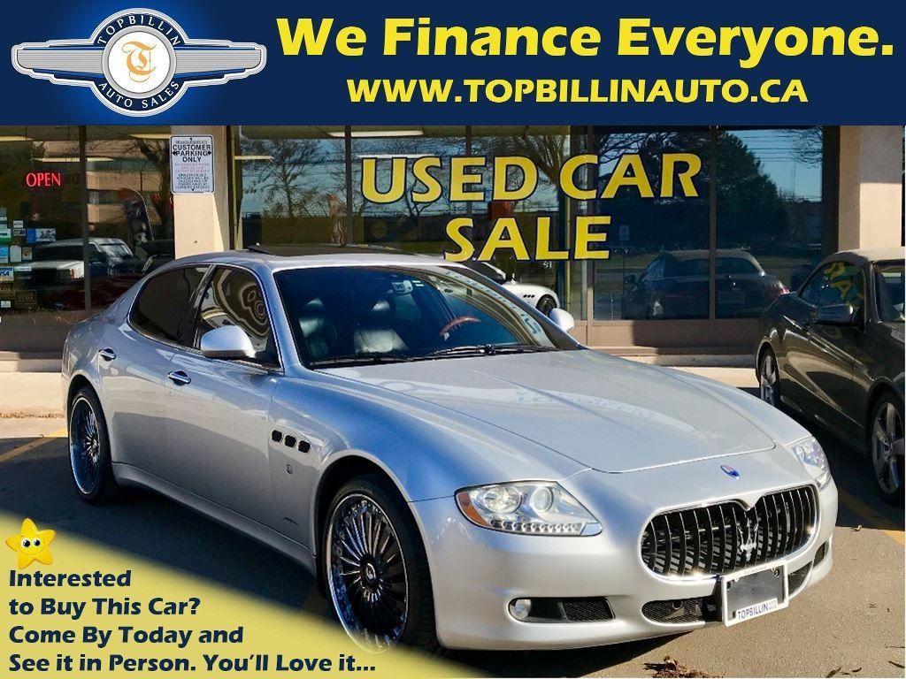 2009 Maserati Quattroporte 2 Sets of wheels & tires, 2 Years WARRANTY