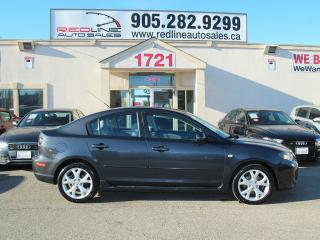 Used 2007 Mazda MAZDA3 GT, Sunroof, Alloys, WE APPROVE ALL CREDIT for sale in Mississauga, ON