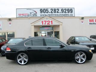 "Used 2004 BMW 7 Series Li, 21"" Wheels, NAVI, WE APPROVE ALL CREDIT for sale in Mississauga, ON"