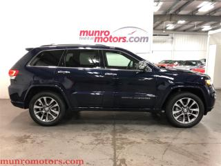 Used 2017 Jeep Grand Cherokee Overland PANO NAVI 825 Watt   Low Kms for sale in St George Brant, ON