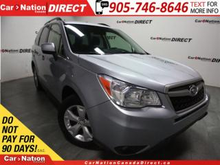 Used 2014 Subaru Forester 2.5i Convenience| AWD| BACK UP CAM| HEATED SEATS| for sale in Burlington, ON