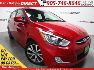 Used 2017 Hyundai Accent SE| SUNROOF| HEATED SEATS| OPEN SUNDAYS| for sale in Burlington, ON