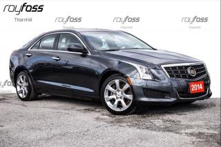Used 2014 Cadillac ATS AWD CUE ROOF 2.0L Turbo for sale in Thornhill, ON