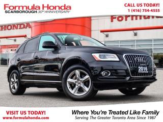 Used 2016 Audi Q5 2.0T | HEATED SEATS | ALL WHEEL DRIVE! for sale in Scarborough, ON