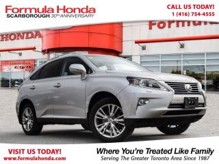 Used 2014 Lexus RX 350 $100 PETROCAN CARD YEAR END SPECIAL! for sale in Scarborough, ON