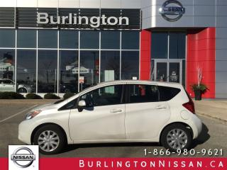 Used 2014 Nissan Versa Note SV, ACCIDENT FREE, EXTENDED WARRANTY ! for sale in Burlington, ON