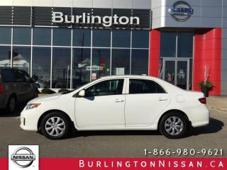 Used 2013 Toyota Corolla CE, ACCIDENT FREE, INCLUDES SNOW TIRES ! for sale in Burlington, ON