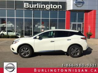 Used 2016 Nissan Murano SL, AWD, ACCIDENT FREE, 1 OWNER ! for sale in Burlington, ON