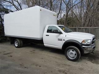 Used 2015 Dodge Ram 5500 HD 2wd diesel with 17 ft unicell box for sale in Richmond Hill, ON