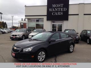 Used 2014 Chevrolet Cruze LT 1.4L TURBO | BLUETOOTH | 6 SPEED for sale in Kitchener, ON