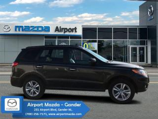 Used 2011 Hyundai Santa Fe Limited  - Sunroof -  Leather Seats for sale in Gander, NL