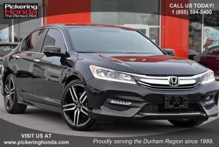 Used 2017 Honda Accord Sedan L4 Sport CVT for sale in Pickering, ON