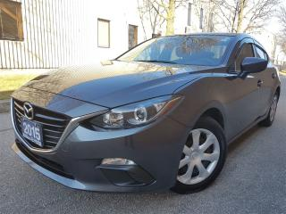 Used 2015 Mazda MAZDA3 GX-local trade-Very clean-certified for sale in Mississauga, ON