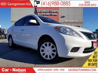 Used 2012 Nissan Versa 1.6 SV | CLEAN CARPROOF | A/C | POWER OPTIONS for sale in Georgetown, ON