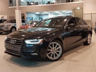 Used 2014 Audi A4 PROGRESSIV-NAVIGATION-LOADED-ONLY 83KM for sale in York, ON