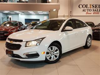 Used 2015 Chevrolet Cruze LT-AUTO-REAR CAM-BLUETOOTH-ONLY 50KM for sale in York, ON