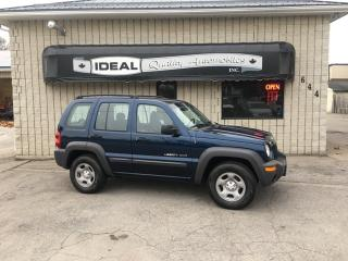 Used 2002 Jeep Liberty Sport for sale in Mount Brydges, ON
