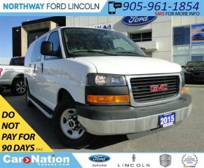 Used 2015 GMC Savana 2500 1WT    GREAT FOR A BUSINESS   LOW KM   for sale in Brantford, ON
