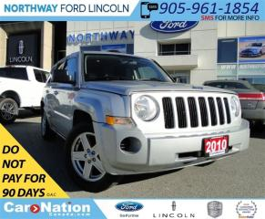Used 2010 Jeep Patriot Sport/North | LOW KM | for sale in Brantford, ON