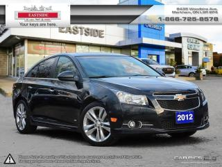 Used 2012 Chevrolet Cruze Sedan LTZ Turbo LTZ Turbo for sale in Markham, ON