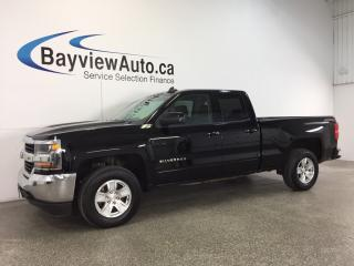 Used 2017 Chevrolet Silverado 1500 LT- 5.3L|4x4|DBL CAB|REV CAM|BLUETOOTH|ON STAR! for sale in Belleville, ON