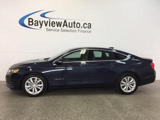 Used 2017 Chevrolet Impala 1LT - ALLOYS! REM STRT! DUAL AIR! REV CAM! BLUETOOTH! for sale in Belleville, ON
