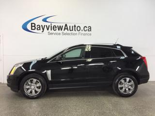Used 2014 Cadillac SRX - AWD|REM STRT|PANOROOF|HTD LTHR|BOSE|REV CAM|! for sale in Belleville, ON