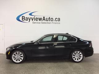 Used 2017 BMW 320i - TWIN TURBO|AWD|SUNROOF|HTD LTHR|PUSH BTN START! for sale in Belleville, ON